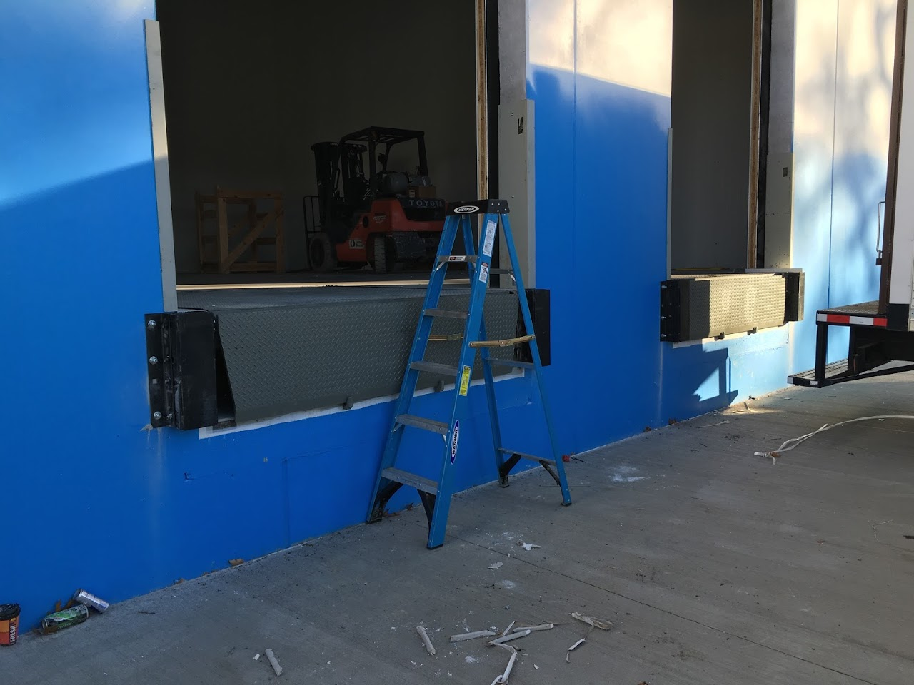 10 supertips to prevent your loadingdock problem loading dock, inc. mechanical dock leveler installment at 1401 West Blancke St Linden.jpg