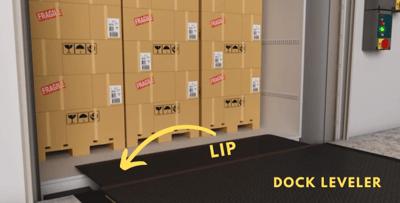 Dock Leveler Lip 2