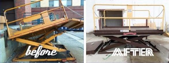 Dock Lift Emergency Repair