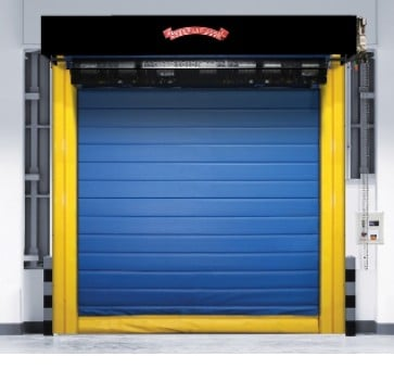 Fabric Roll Up Doors - High-Speed Freezer Cooler 997 Wide