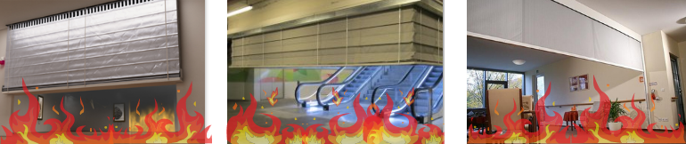 Fire Curtains, Smoke Curtains, Smoke Barriers in New Jersey