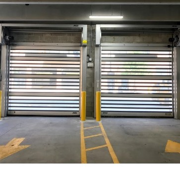 High Performance Doors Rytec Spiral VT Doors