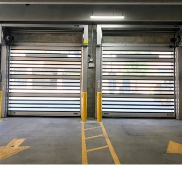 High Performance Roll Up Doors Rytec Spiral VT Doors