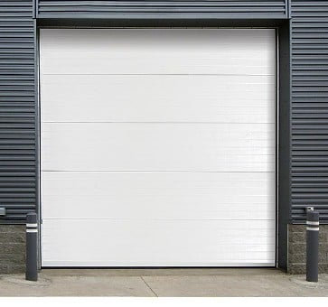Insulated Sectional Steel Roll Up Door 470 wide