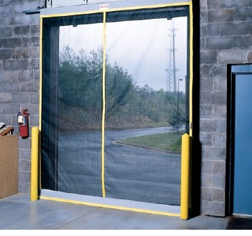 Loading Dock Bug Screen Door