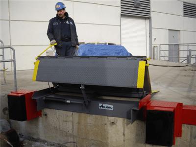 Mechanical Edge of Dock Leveler Installed in NJ