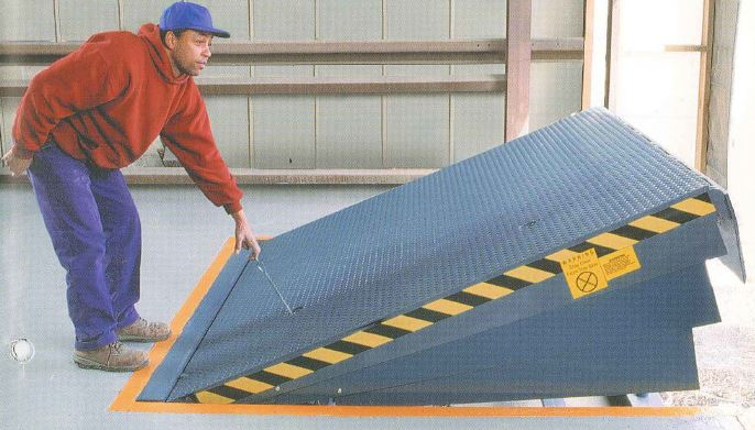 Manual Dock Plate Repair, Chain Dock Plate, Dock Leveler, Dock Lift Repair, Service Dock Leveler