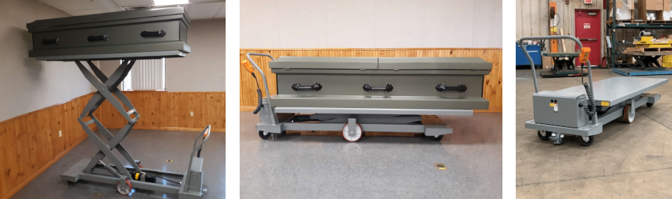 Mobile Dock Lifts for Hospitals, Morgues or Mortuaries