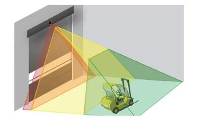 Multi Zone Function Senzing for Clean Roll Doors NJ NYC2