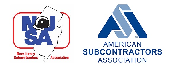 NJSA and American Subcontractors Association logos