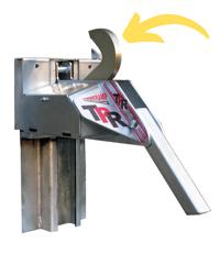 Poweramp Vehicle Restraint with Hook (Barrier)