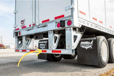 Rear Impact Guard for Truck Restraints, Vehicle Restraints1