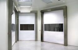 Rytec Clean Roll High Speed Fabric Door Pharma Seal
