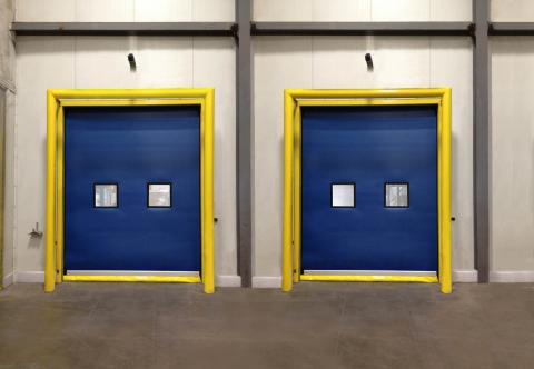 Rytec High-Speed Fabric Door Predacool Coolered