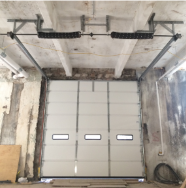 Sectional Overhead Doors with Low Headroom Space NYC NJ Area