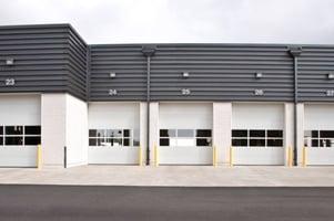 Sectional Steel Door 418 Wide in NJ Area