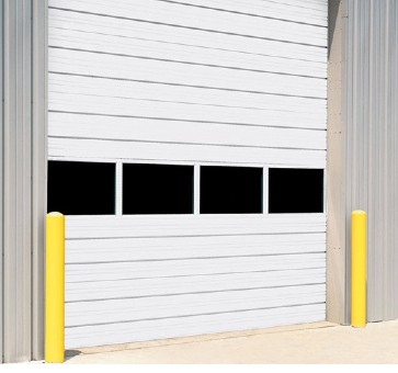 Sectional Steel Roll Up Door 432 Wide
