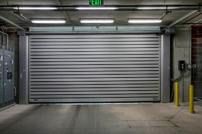 Spiral® LH® High Performance Overhead Door For Low Headroom Space NYC NJ