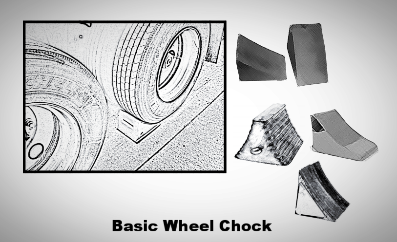 Vehicle Restraints 101; wheel chocks