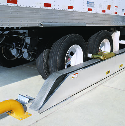 Wheel Engaging Vehicle Restraints