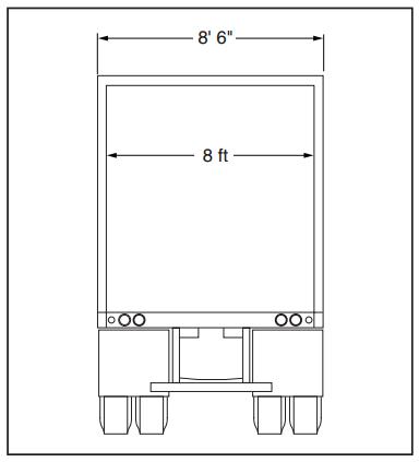 ... Design the Loading Dock Determine Door Sizes 9 feet wide doors should be used  sc 1 st  Loading Dock Repairs & Design the Loading Dock: Determine Door Sizes
