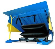 Blue Giant  Air Powered Dock Leveler, Airbag Dock Leveler