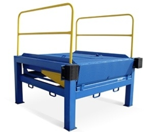 Blue Giant Loading Dock Plate Equipment, Alternative Installs, Pour-In Pans