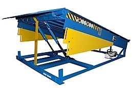 Blue Giant Loading Dock Plate Equipment, Pit Style, Hydraulic Dock Leveler