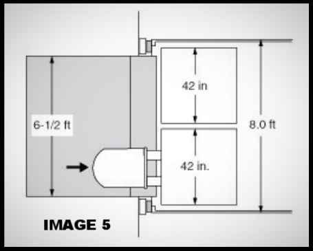 specifying the correct loading dock leveler for your facility image, 5; 6/2 feet dock levelers