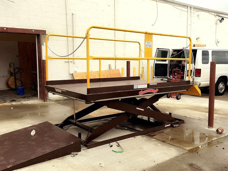 Specifying The Elevating Dock Lift For Your Facility