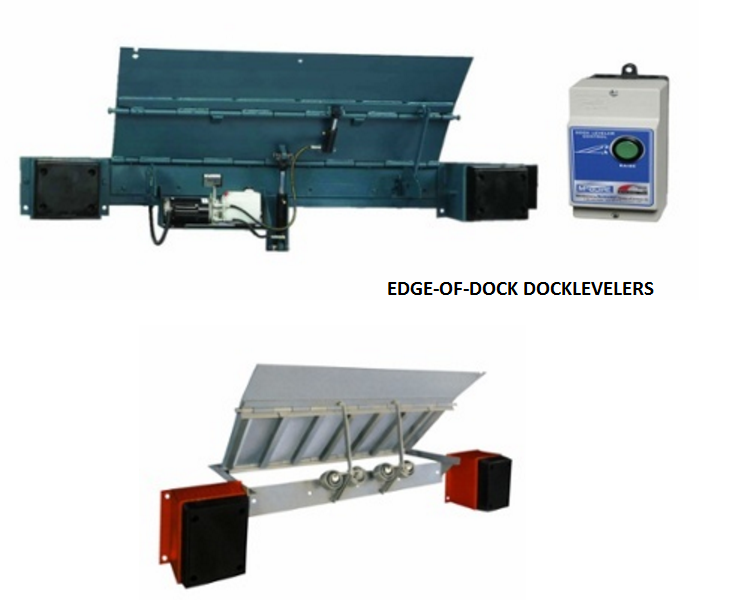 the top 2 common dock leveler types  Loading Dock, Inc. edge-of-dock leveler
