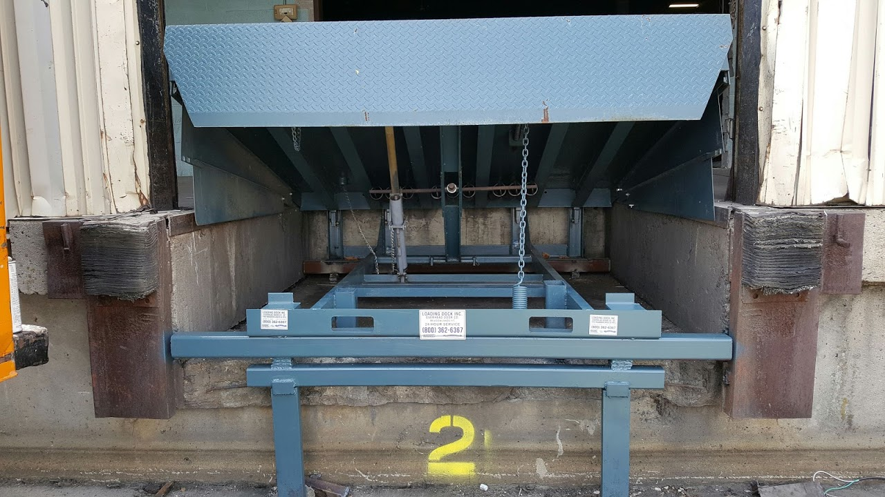 the top 2 common dock leveler types, recessed dock leveler service provided by Loading Dock, Inc.