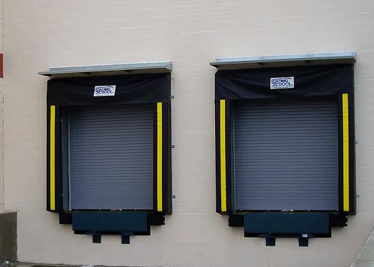 top 2 sealing systems for overhead loading dock doors & gates dock seals by loading dock inc.