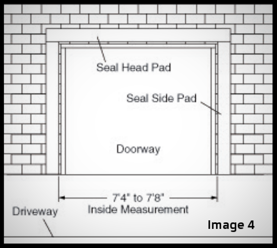 top 2 sealing systems for overhead loading dock doors & gates, image 4; seal pad