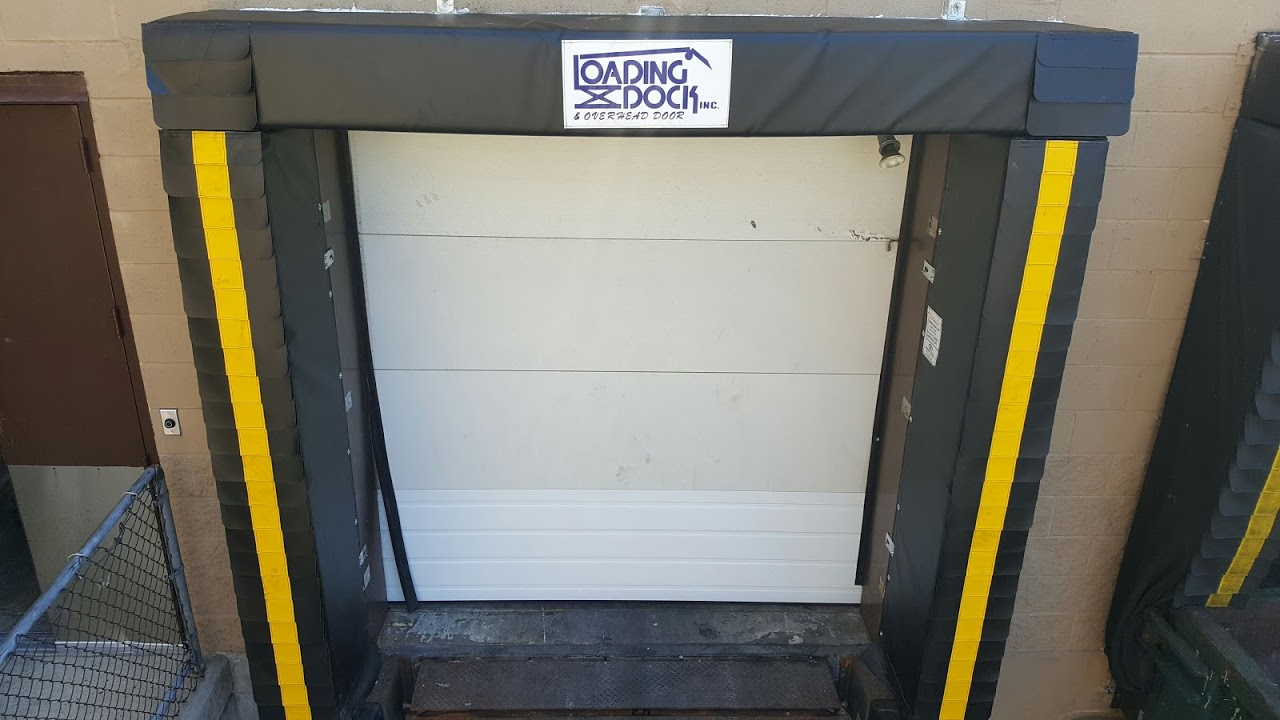 top 2 sealing systems for overhead loading dock doors & gates loading dock, inc. dock shelter service