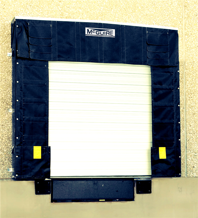 top 2 sealing systems for overhead loading dock doors, dock seal installation by loading dock inc.jpg