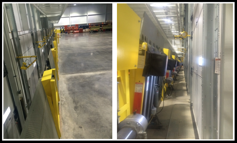 vertical storage leveler installation for cold storage facilities Installation; Stanchion Installation 2nd gallery.