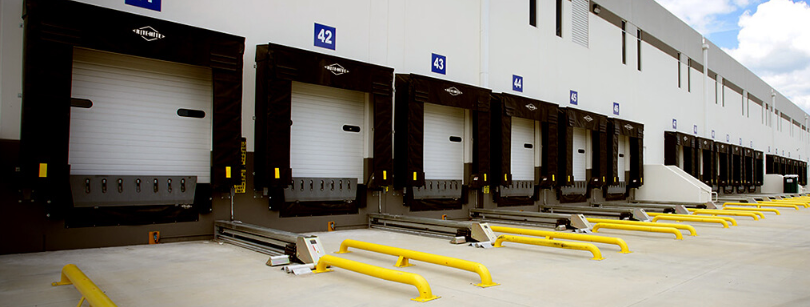 Dock Shelters, Insulated Sectional Doors with Windows, Dock Levelers in NYC