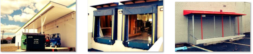 Loading Dock Canopies installed in NYC and NJ area